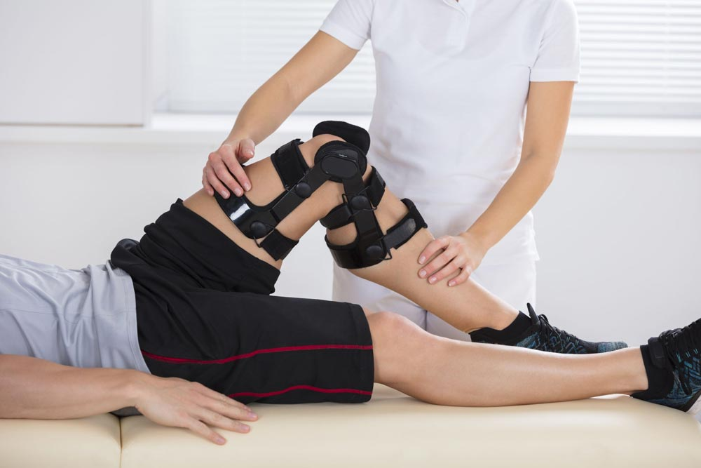 Fisioterapia tras una lesión de rodilla